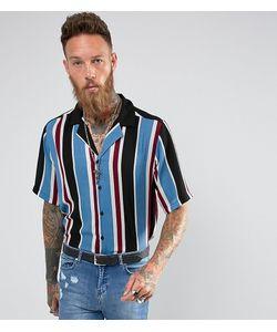 Reclaimed Vintage | Рубашка Классического Кроя В Полоску С Отложным Воротником Inspired