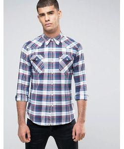 Levi's® | Клетчатая Рубашка В Стиле Вестерн Levis Barstow Suona Dress Blues