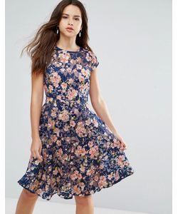 Louche | Платье Миди С Вышивкой Jerrica