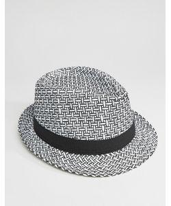 7X | Соломенная Шляпа В Стиле 7-Х