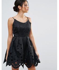 Amy Lynn | Короткое Приталенное Платье С Вырезами