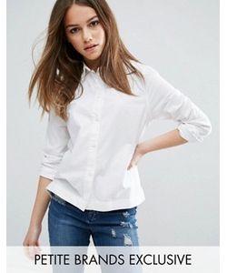 Waven Petite | Белая Приталенная Рубашка