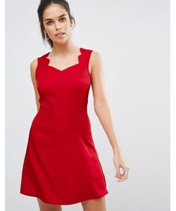 Daisy Street   Короткое Приталенное Платье С Фактурной Отделкой По Краю