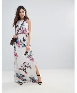 Soaked In Luxury | Платье Макси С Цветочным Принтом