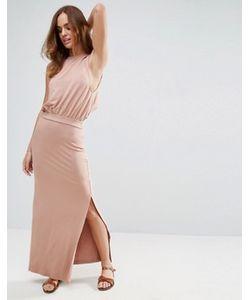 Asos | Повседневное Платье Макси С Заниженным Проймами