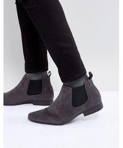 New Look   Ботинки Челси Из Искусственной Замши