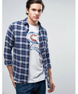 Jack & Jones | Узкая Рубашка В Клетку Из Хлопка Vintage