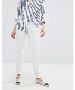 Vero Moda | Белые Облегающие Джинсы С Завышенной Талией