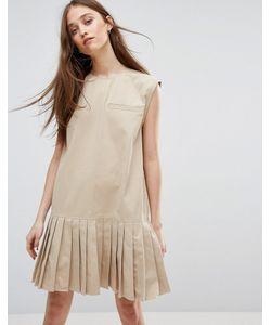 Weekday | Платье С Плиссированным Подолом