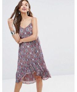 Diya | Платье-Комбинация С Принтом