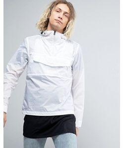 Napapijri | Легкая Белая Куртка С Капюшоном Asheville