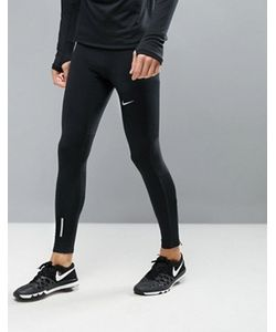 Nike Running | Черные Леггинсы Для Бега Tech 642827-010