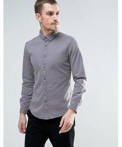 Esprit | Серая Выбеленная Джинсовая Рубашка