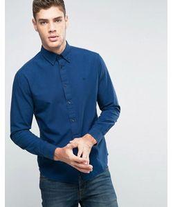 Wrangler | Синяя Рубашка Классического Кроя На Пуговицах В Клетку