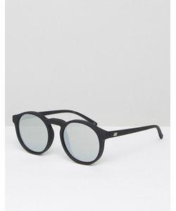 Le Specs | Круглые Солнцезащитные Очки С Серебристыми Стеклами