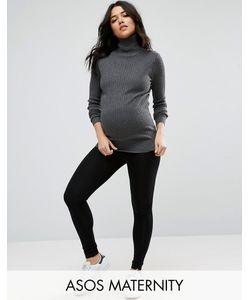 ASOS Maternity | Леггинсы Для Беременных Черный