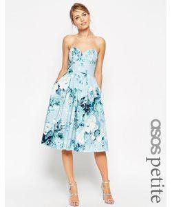 ASOS PETITE | Платье Для Выпускного С Розами Salon