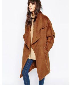 Paisie | Шерстяное Пальто С Кожаным Поясом