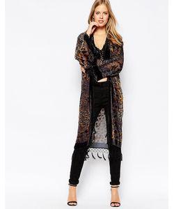 Jayley | Длинная Шелковая Куртка Ola