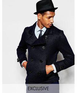 Feraud   Двубортное Пальто Из 50 Шерсти Premium