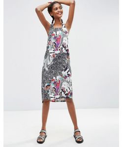 ASOS Africa | Цельнокройное Платье С Халтером И Принтом X Chichia