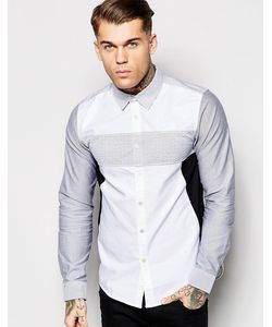 Izzue | Рубашка С Полосатыми Вставками