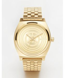 Nixon x Star Wars | Золотистые Часы C-3po Time Teller