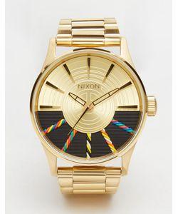 Nixon x Star Wars | Золотистые Часы C-3po Sentry Ss Золотой