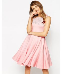 Ukulele | Платье С Цветочным Принтом И Ручной Отделкой