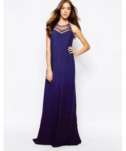 Fallen Star | Многослойное Платье Макси С Гобеленовой Отделкой