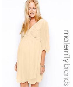 Little Mistress Maternity   Кружевное Платье Для Беременных С Запахом Little Mistress