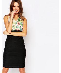 Amy Childs | Платье-Бандаж С Цветочный Лифом Mimi