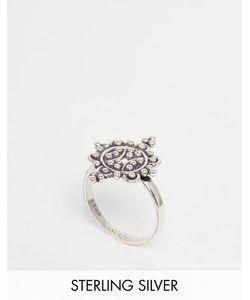 Regal Rose | Серебряное Кольцо С Цветным Дизайном Fleur Серебряный