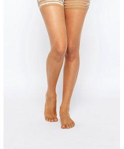Nubian Skin | Чулки 10 Ден На Резинках Café Au Lait