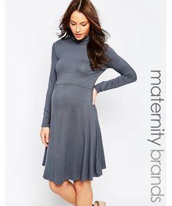 Kate Thomas | Платье Для Беременных С Высоким Воротом