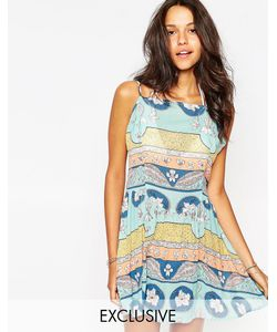 Somedays | Пляжное Платье С Завязками Сзади Lovin Calypso