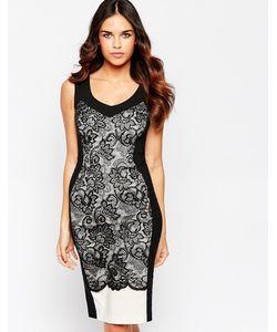 Hybrid | Платье Из Фигурного Кружева С Vобразным Вырезом Hudson