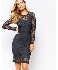 Body Frock | Серое Кружевное Платье Ella Серый