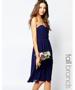 TFNC Tall | Шифоновое Платьебандо Миди Wedding