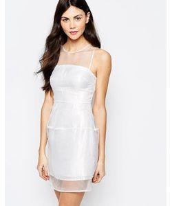 Aryn K   Платье С Полупрозрачными Вставками