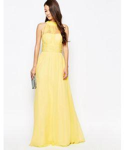 Key Collections | Платье Макси Ashley Roberts Специально Для Желтый