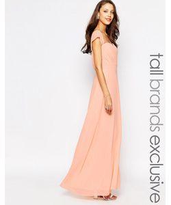 Jarlo Tall | Платье-Макси С Открытыми Плечами Florance