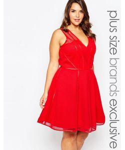 Forever Unique Plus | Платье Для Выпускного Размера Плюс