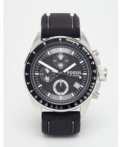 Fossil | Часы С Силиконовым Ремешком Decker Ch2573 Черный