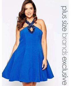 Forever Unique Plus | Платье Для Выпускного С Декоративной Отделкой