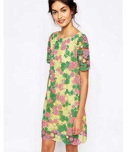 Soma London | Цельнокройное Платье Из Кружева Кроше