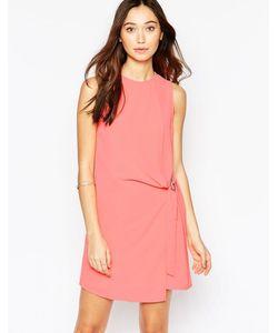 Wal G | Цельнокройное Платье С D-Образной Пряжкой
