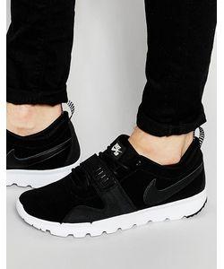 Nike SB | Кожаные Кроссовки Trainerendor 806309-002 Черный