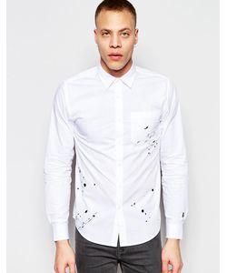 Izzue | Рубашка С Вышивкой В Виде Брызг