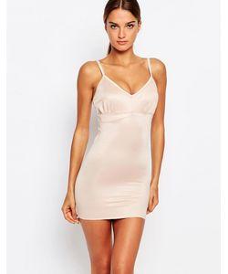 Smooothees | Моделирующее Платье-Комбинация С Бретельками Телесный
